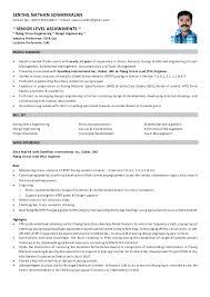 Piping Stress Engineer Sample Resume