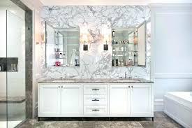 Bathroom Bath Medicine Cabinets Wood White Framed Mirrored Medicine Awesome Inset Bathroom Cabinets Interior