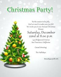 Invitation Sample For Christmas Party Sample Party Invitation