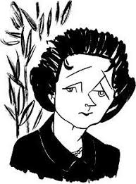 a young rachel carson the secret lives of authors rachel carson in new yorker 2007 illustration by tom bachtell