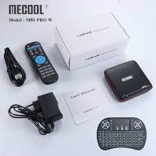 MECOOL M8S PRO W Android 7.1 Akıllı Android Tv Kutusu 2G RAM 16G ROM  Amlogic S905W Destek WiFi H.265 4 K HD Medya Oynatıcı Set-top Kutuları -  V.lucillesrockinradio.com