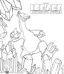 Small Picture Ice Age Collision Course colouring in pages for kids Families Online