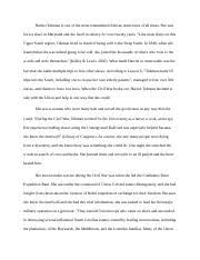 hist african american history before amu page  2 pages week 6 essay harriet tubman in the civel war docx