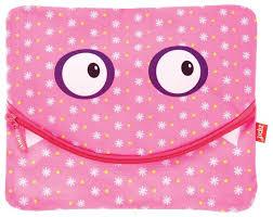 ZIPIT <b>Папка</b>-пенал на молнии Googly Smile для тетрадей и ...