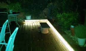 view larger image led tape in the garden decking led lights