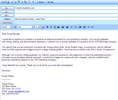 Emailing Resume And Cover Letter Subject Line What To Write In Email When  Sending Resume Editor ...
