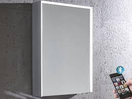 Lighted Bathroom Mirror Cabinet 60 Led Demister Illuminated Bathroom Cabinet Mirror With Shaver