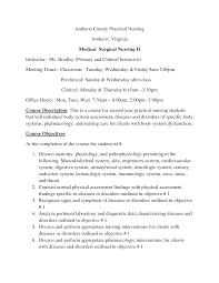 Medical Surgical Nursing Resume Sample medical surgical nursing resume Eczasolinfco 34
