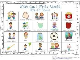 What Can I Write About Chart Lucy Calkins Information