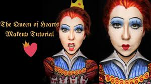 queen of hearts makeup tutorial