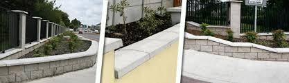 precast concrete wall caps wall