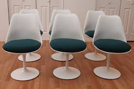 knoll chairs vintage. Simple Chairs Eero Saarinen KNOLL Tulip Chairs VINTAGE Mid Century Modern With NEW  Cushions Inside Knoll Vintage L