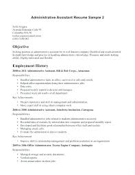 Medical Assistant Resumes Examples Inspiration Medical Assistant Resumes Executive Sample Resume Receptionist