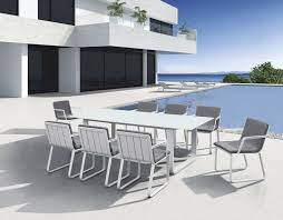 white metal outdoor furniture. Best White Aluminum Patio Furniture And Metal Garden Table Chairs Aluminium 12 Outdoor