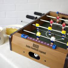 table football. personalised table top football game m