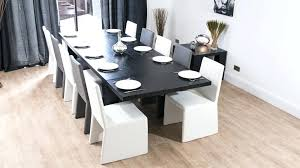 modern dining table with bench. Black Modern Dining Table With Bench