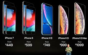 Apple Phones Comparison Chart Iphone Price Comparison Heres How Much Every Iphone Costs