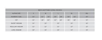 Exofficio Size Chart Ex Officio Mens Bugsaway Echo Pant