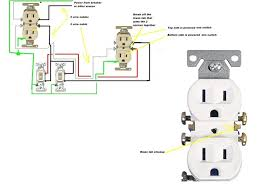 wiring diagrams house wiring diagram electrical outlet diagram how to wire a double outlet in the middle of a run at House Outlet Wiring Diagrams