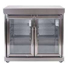 masport ambassador outdoor kitchen double fridge module