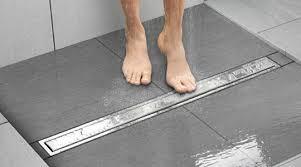 schluter kerdi line linear shower drain system