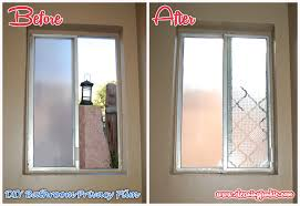 Bathroom Window Frosting Film check frosted window film privacy bedroom  bathroom office glass