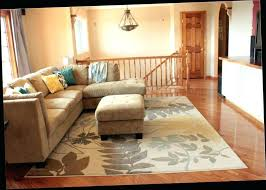 how to place area rugs creative decoration how to place area rug in living room decorative