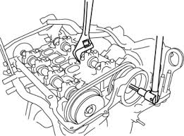 mazda 3 service manual electric variable valve timing actuator hold the intake camshaft using a wrench on the cast hexagon and remove the electric variable valve timing actuator installation bolt