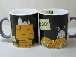 Mug foxymug 5 out of 5 stars (5,554. 16oz 2 Halloween Snoopy 50 Yrs The Great Pumpkin Anniversary Coffee Mugs Peanuts For Sale Online Ebay