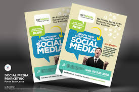 business to business marketing flyers social media marketing flyers psd template 67235