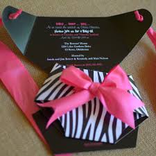 Free Printable Baby Shower Invitations For Girls  Zebra Print Pink Zebra Baby Shower Invitations
