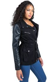 black anorack jacket for women