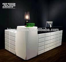 European style ZJF cheap reception desk cash counter table design salon  reception desk for sale #