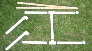 7 pvc 1 5 id pieces 2 4 wood furring strips 2 t