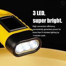 Đèn Pin Năng Lượng Mặt Trời Mini 3 Led Cắm Trại Có Thể Sạc Lại - Đèn pin