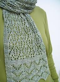 Lace Scarf Knitting Pattern