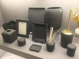 Awesome Design with Black Bathroom Accessories Bathroom
