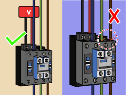 how to wire a contactor 8 steps (with pictures) wikihow 3 phase contactor with overload wiring diagram at Contactor Relay Wiring Diagram