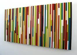 modern wood sculpture wall art