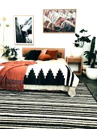 black accent rug cool