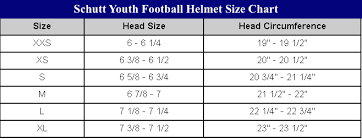 Football Helmet Dimensions 2019