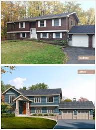 Image Open Concept This Old House Raised Ranch Redo From Blah To Craftsman Pinterest This Old House Raised Ranch Redo From Blah To Craftsman Exterior