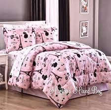 Pink And Black Girls Bedroom Charming Girl Bedroom Decoration Using Pink Iron Girl Headboard