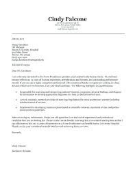 Simple Sample Cover Letter For Resume Cover Letter Nurse Sample