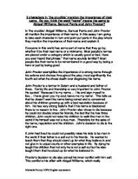 The Crucible John Proctor Tragic Hero Essay Mistyhamel
