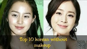 top 10 korean actress without makeup you for korean actress before and after makeup