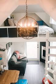 Small Picture 280 Sq Ft Esket Tiny House on Wheels with Genius Loft Design