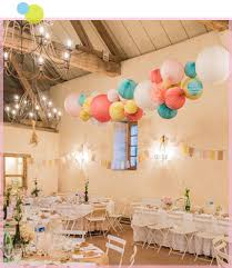 Decoration With Paper Lanterns