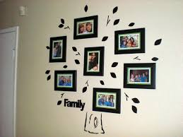 family tree picture frame wall unique home design family tree wall decal with frames front door