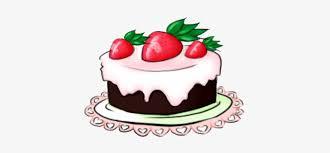Anime Birthday Cake Drawing Birthday Cake Chibi Free Transparent